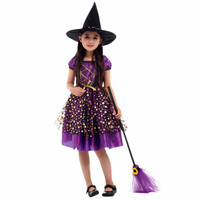 Jual Baju Kostum Penyihir Anak Cantik Witch Cosplay Halloween