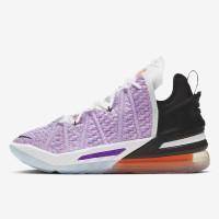 Sepatu Basket pria Nike Lebron XVIII Multicollor