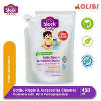 Sleek Bottle Nipple and Baby Accessories Cleanser Pouch 450 mL