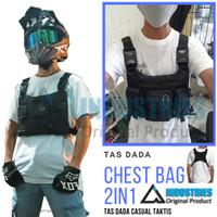 Rompi Tas Depan Dada Army Tactical vest Model 2 in 1 A Industries ORI