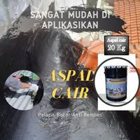 Aspal Cair Cat Perekat Pelapis Anti Bocor Dak Beton Lantai Tembok 20KG