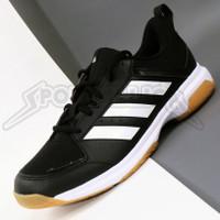 Sepatu Badminton / Indoor Court Shoes Adidas Ligra 7 M Core Black