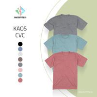 Kaos Polos Cotton Combed XXL - Premium Quality