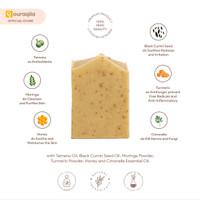AQILA - PREMIUM TAMANU HERB Soap Bar (Sabun Natural Kulit Dermatitis)