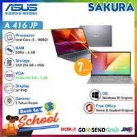 Asus VivoBook A416JP i3-1005G1 4G 256/512 14FHD MX330 Win10 OHS 2019