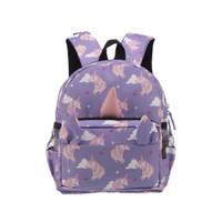 Lilac unicorn backpack - lilac