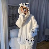 Jaket Jepang/Anime Karakter Kawaii Lucu - Back Pocket Panda Jacket