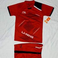 baju badminton kaos bola futsal anak setelan anak Li Ning