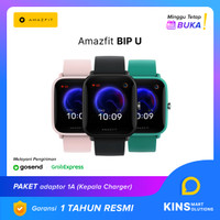 Amazfit Offcial BIP U Smartwatch Sport Jam Tangan Digital Smart Watch