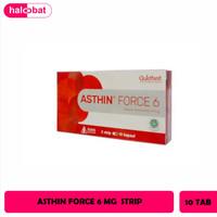 ASTHIN FORCE 6 MG KAPSUL STRIP ISI 10 KAPSUL ( 1 BOX ISI 2 STRIP)