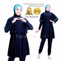 baju renang wanita muslim syar'i dewasa pakaian perempuan premium001 - premium 001, M