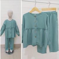 SG - Set Tasya / baju muslim anak perempuan usia 5-9 tahun