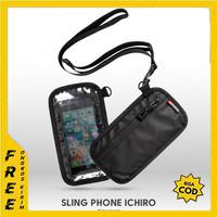 SLING POUCH WALLET PHONE ICHIRO HP DOMPET KARTU BAG ARCIO PRIA CEWE L6