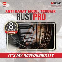 Anti Karat Mobil DOMO Rust Protection Lapisan Rubber Resin Tahan Lama
