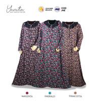 Homedress Murah bahan rayon viscose premium : YUNITA by Syamilah