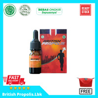 British Propolis Original 100% Asli Suplemen /Obat Herbal Alami