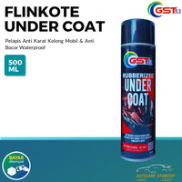 Rubberized Under Coat GST52 Flinkote Pelapis Anti Karat Mobil 500ML
