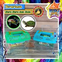 Terarium Kura-Kura dan Ikan - Aquarium - Akuarium Bawa Hewan