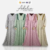 Homedress murah rayon viscose kain adem : ADELIA by Syamilah