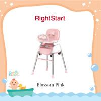 Right Start High Chair HC 2380 Candy Series / Kursi Makan Bayi - Blossom Pink