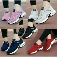 Sepatu Kets Wanita Neo Adidas Sneakers Cewek Casual Olahraga Running