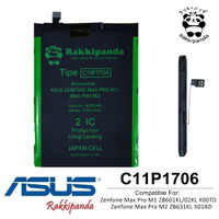 Baterai Asus Zenfone Max Pro M2 ZB631KL C11P1706 Double IC Protection