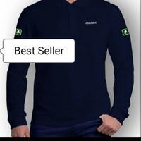 tshirt baju kaos kerah lengan panjang Consina - High Quality