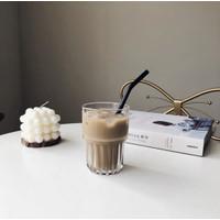 Yu Ka Vintage Drinking Glass | Gelas Cafe Korea