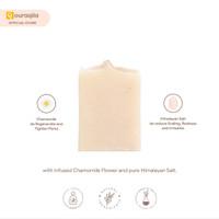 AQILA - CHAMOMILE BRINE SOAP BAR (Sabun Chamomile & Garam Himalaya)