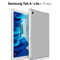 Case TPU Jelly Samsung Tab A7 Lite 8.7 2021, Cover Premium Anti Crack
