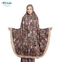 Mukena Elsa Mukna Dewasa Jumbo Rukuh Potongan Premium Box(Autumn Leaf)