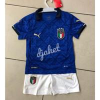 JERSEY ITALIA HOME KIDS 20 21 2020 2021 BAJU BOLA ANAK TIMNAS ITALY GO