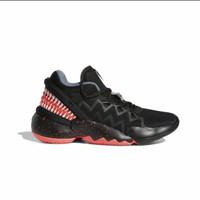 Sepatu Basket Anak Adidas D.O.N Issue #2 shoes Black FW8749