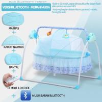 Kasur goyang bayi yang baru lahir , tidur dengan remote control