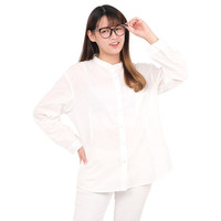 Monellina 50157 Baju Kemeja Atasan Koko Jumbo Lengan Panjang Wanita