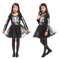 Jual Dress Baju kostum tengkorak anak SKULL SKELETON Halloween