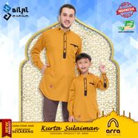 Baju Koko Kurta Pakistan Muslim Couple Ayah dan Anak Arra Sulaiman