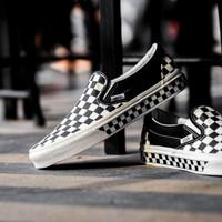 Vans Slip On Nextor Checkerboard Black White