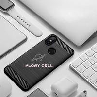 Xiaomi Mi Max / Max 2 Max 3 5x Black carbon fiber case softcase casing