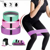 Hip resistance band / 3 level / Yoga / Olahraga / Senam
