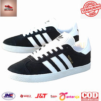 Sepatu Wanita Adidas Gazelle Black List White Original