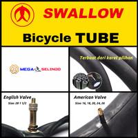 Ban Dalam Sepeda Swallow Ukuran 16, 18, 20, 24, 26, 28