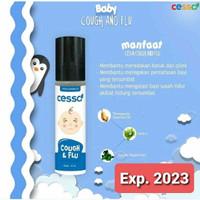 Cessa cough and flu / Cessa cough n flu biru pereda batuk pilek bayi