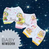 Celana Pop Segitiga Kodok Kacamata Pendek Bayi Baby Newborn Baju Lucu