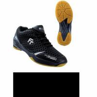 Sepatu Badminton Fleet Egripsion black hitam