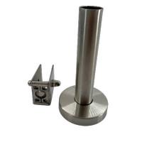 Kaki Partisi / Toilet / WC Partition Holder PH006C 115/160 x 20mm YANE