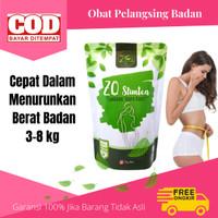 Obat Penurun Berat Badan Herbal Alami ZQ Slimtea Teh Pelangsing Diet