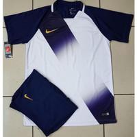 Jersey | Setelan Futsal Galaxy Navy | Baju Bola Dewasa | Pakaian Sepak