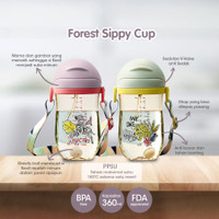 Babycare - Forest Sippy Cup with Strap PPSU 360ml