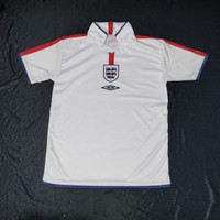 Jersey Inggris 2003/2004 Home/Jersey England Home 2003/2004 Retro
